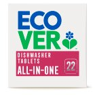 Ecover all-in-one dishwasher tablets citrus - 25 tablets