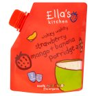 Ella's Kitchen Organic strawberry mango and  banana porridge baby food - 150g