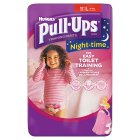 Huggies Pull-Ups Night-Time Pants - 16-23kg L Girls