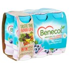 Benecol blueberry yogurt drinks - 6x67.5g
