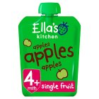 Ella's Kitchen Organic first tastes apples apples apples baby food - 70g Brand Price Match - Checked Tesco.com 28/07/2014