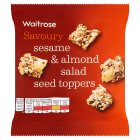 Waitrose Sesame & Almond Salad Seed Toppers - 25g