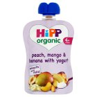 Hipp peach,mango with yogurt - 70g Brand Price Match - Checked Tesco.com 05/03/2014