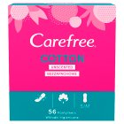 Carefree cotton pantyliners - 58s