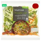 Waitrose Noodle Cut Vegetable Stir Fry - 210g
