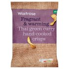 Waitrose Thai Green Curry Hand-Cooked Crisps - 150g