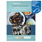 Waitrose MSC Scottish mussels in cream & white wine - 500g