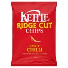 Kettle ridge cut chips spicy chilli - 150g Brand Price Match - Checked Tesco.com 23/07/2014