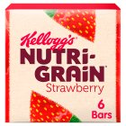 Kellogg's Nutri Grain 6 Strawberry Bars - 6x37g