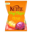 Kettle Veg Chips Honey & Black Pepper - 125g