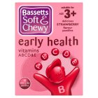 Bassetts Soft & Chewy early health vitamins - strawberry - 45s