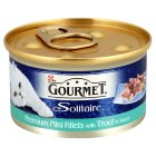 Gourmet Solitaire Mini Fillets with Trout - 85g Brand Price Match - Checked Tesco.com 25/02/2015