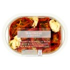 Waitrose semi dried tomatoes, mozzarella & pesto - 240g