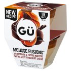 Gü Mousse Fusions Chocolate & Toffee - 2x70g