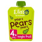 Ella's Kitchen Organic first tastes pears pears pears baby food - 70g Brand Price Match - Checked Tesco.com 16/07/2014