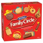 McVitie's Family Circle biscuit selection - 800g