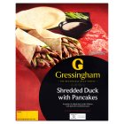 Gressingham shredded duck with pancakes - 200g