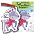 Waitrose Woodland friends gift tags - 8s