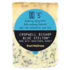 Waitrose Cropwell Bishop Blue Stilton cheese, strength 5 - 150g