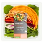 Waitrose Rainbow Stir Fry - 200g
