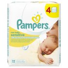 Pampers new baby sensitive wipes, 4 pack - 200s