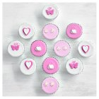 Fiona Cairns Pretty Pink Party Cakes - each