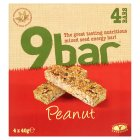 Wholebake Limited 9bar peanut - 4x40g