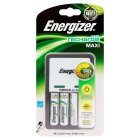 Energizer Accu Recharge Compact rechargeable AA batteries and charger 2000mAh