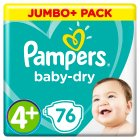 Pampers Baby-Dry 4+ Maxi+ 9-18kg -