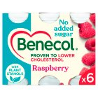 Benecol No Added Sugar Raspberry - 6x67.5g