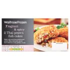 Waitrose Frozen 2 Thai prawn fish cakes - 230g