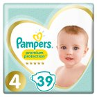 Pampers Premium Protection 4 8-16kg - 39s