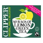 Clipper 80 Green Tea & Lemon - 160g