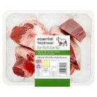 Essential Waitrose british lamb sliced shank osso buco - 500g