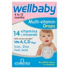 Vitabiotics wellkid baby drops - 30ml Brand Price Match - Checked Tesco.com 21/04/2014