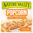 Nature Valley popcorn peanut and sunflower seed - 5x20g
