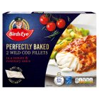 Birds Eye Bake To Perfection 2 cod fillets with tomato & rosemary sauce - 280g Brand Price Match - Checked Tesco.com 26/08/2015