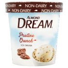 Almond Dream praline crunch non-dairy ice cream - 472ml Introductory Offer