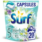 Surf 2in1 Capsules with Herbal Extracts - 20s