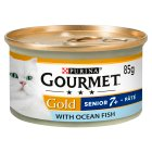 Gourmet Gold senior paté with ocean fish - 85g Brand Price Match - Checked Tesco.com 16/04/2015