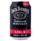 Jack Daniel's & cola - 330ml Brand Price Match - Checked Tesco.com 10/02/2016