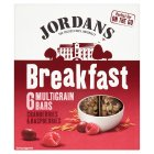 Jordans Breakfast 6 Multigrain Bars Cranberries & Raspberries - 6x40g