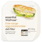 essential Waitrose free range egg mayonnaise filler - 240g