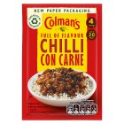 Colman's chilli con carne recipe mix - 50g Brand Price Match - Checked Tesco.com 21/04/2014