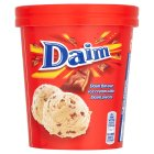 Daim ice cream tub - 480ml Introductory Offer