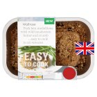 Waitrose Easy To Cook 2 Pork loin medallions with wild mushroom butter & crumb - 280g
