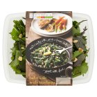 menu from Waitrose baby kale with hazelnuts - 130g