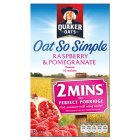 Quaker Oats So Simple R'berry & Pomegranate 10S 334g - 334g