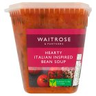 Waitrose LOVE life italian bean soup - 600g