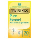 Twinings fennel 20 tea bags - 40g Brand Price Match - Checked Tesco.com 15/09/2014